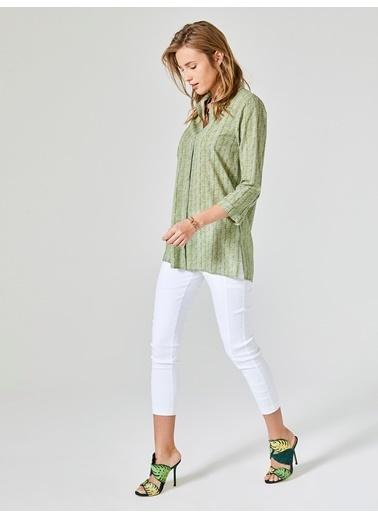 Xint Gömlek Yeşil